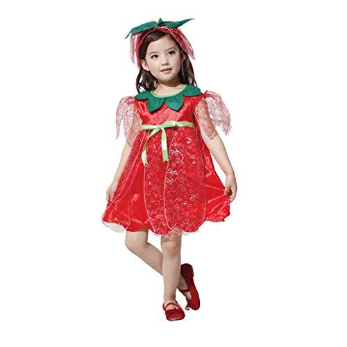 Decoraciones de Halloween Traje del funcionamiento de la falda de la mascarada de ropa Blancanieves Cenicienta de Halloween de los niños Suministros de decoración al aire libre interior