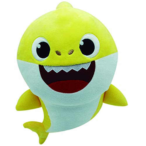 Baby Shark - Peluche Musical Baby Shark (Bandai SS92510) ✅