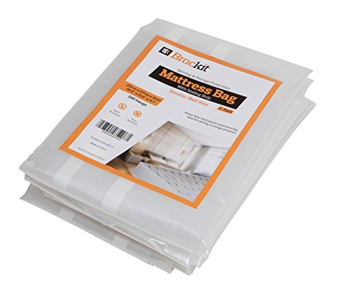 Mattress bag for moving Heavy Duty - Double size 500g. 231cm x 160cm x 35cm. pack of 2