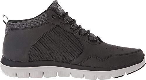Skechers Flex Advantage 2.0, Zapatillas Altas para Hombre, Negro (Black), 44 EU