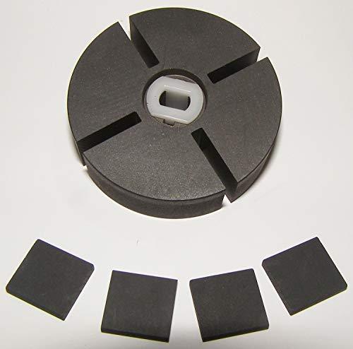 superbobi PP204 1/2' thick Rotor Kit Reddy Desa Dyna Glo Mi-T-M KFA1000 68-3043 HA3004