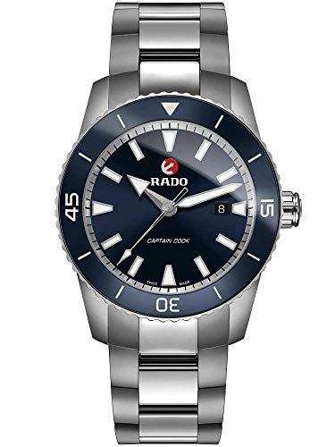 Rado Men's HyperChrome - Captain Cook 45mm Automatic Blue Dial Watch R32501203