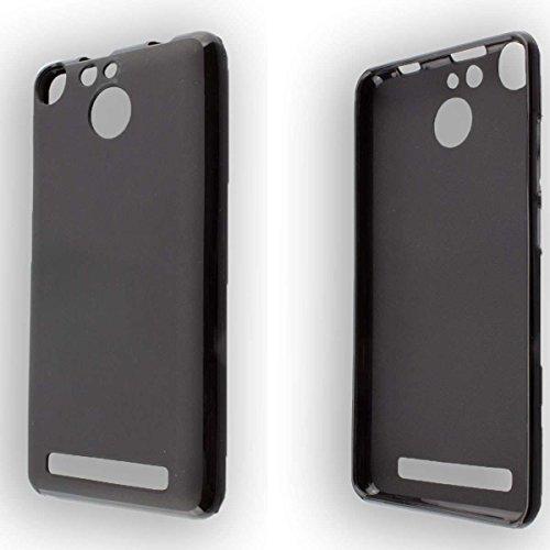 caseroxx TPU-Hülle für Archos 50F Helium, Handy Hülle Tasche (TPU-Hülle in schwarz)