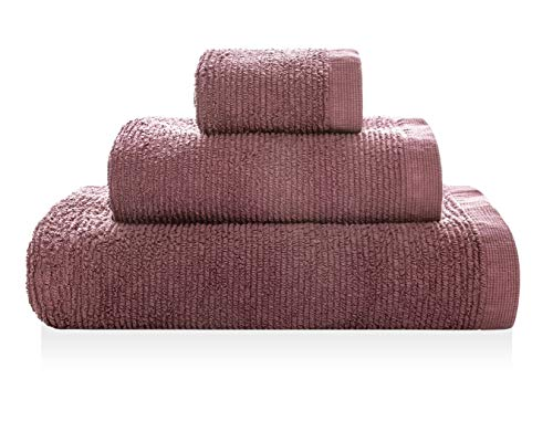 Serviette de Bain Ribbon 95 x 150 cm Bordeaux