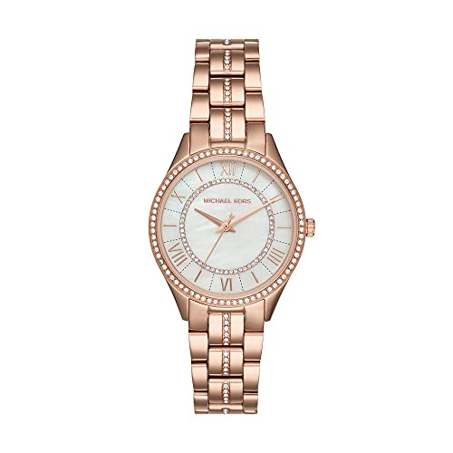 Michael Kors Women's MK3716 Analog Quartz Rose Gold Watch