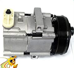 GOWE A/C AC Air Conditioning Compressor Cooling Pump for Ford F-150 BI-Fuel Heritage 4.6L F-250 F-350 5.4L V8 6.8L V10 4L3Z19703AB