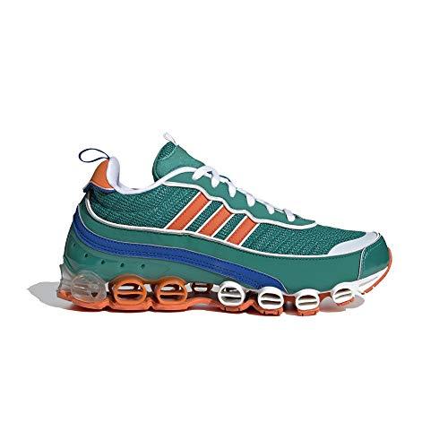 adidas Microbounce T1 - Zapatillas deportivas para hombre, color verde, 44 2/3 ✅