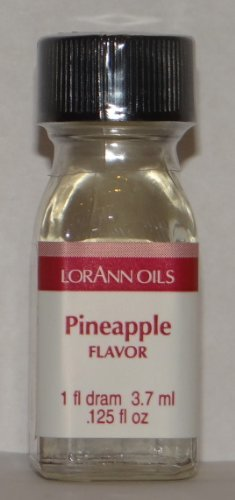 Lorann Oils Pineapple Flavoring, 1 Dram by LorAnn Oils