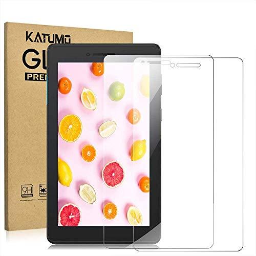 [2 Pack] KATUMO Screen Protector for Lenovo Tab E7 7.0' Tempered Glass Film Protective Screen for Lenovo Tab E7/TB-7104F