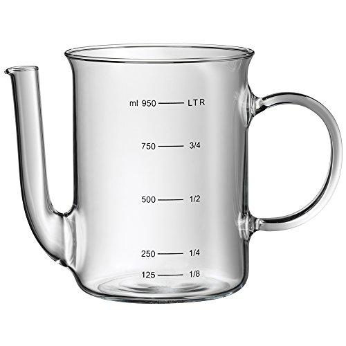 WMF Fettreduzierkanne, 0,5 l, aus hitzebeständigem Glas