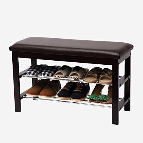 CZWYF Gabinete del zapato en el gabinete de almacenamiento 2-capa de metal sólido en minimalista armario de almacenamiento multifuncional moderna de metal sólido for el gabinete de zapatos artículos d
