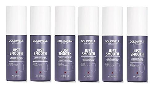 Goldwell Stylesign Just Smooth Sleek Perfection Lot de 6 flacons de 100 ml chacun = 600 ml.