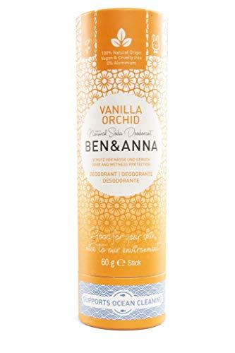 Ben&Anna Deodorant Paperstick Vanilla Orchid
