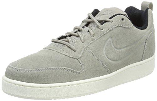 Nike Herren Court Borough Low Premium Basketballschuhe, Mehrfarbig (Cobblestone/Cobblestone/Black 006), 43 EU