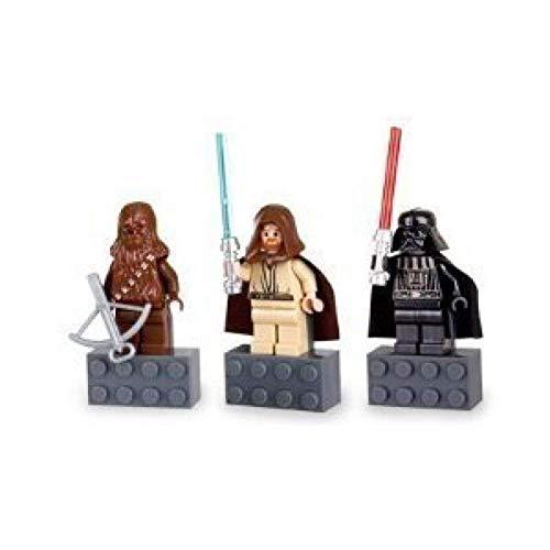 Star Wars Magnet Set Chewbacca, Darth Vader, Obi-Wan Kenobi by LEGO