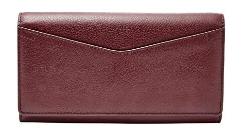 FOSSIL Caroline Continental Flap Wallet RFID Cabernet