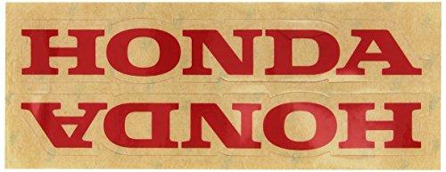 Factory Effex 06-44302 Red 'Honda' Universal Swing Arm Sticker