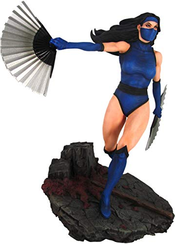 DIAMOND SELECT TOYS Mortal Kombat 11: Kitana PVC Figure, Multicolor