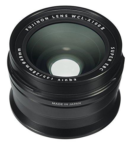Fujifilm wcl-x100II Lente de conversión Gran Angular–Negro (16534728)