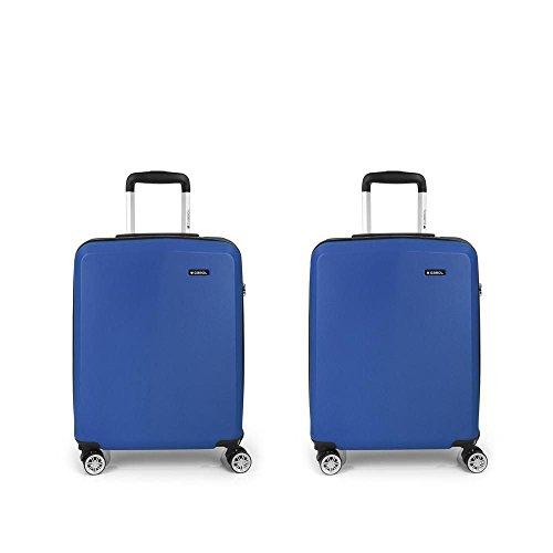 Set 2 Maletas cabina Gabol Mondrian Azul