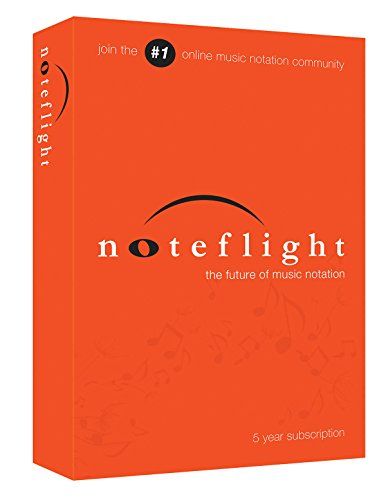 Noteflight, 5 Year Subscription