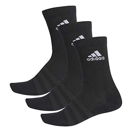 adidas Cush Crew 3er Pack Socken Grau Weiss
