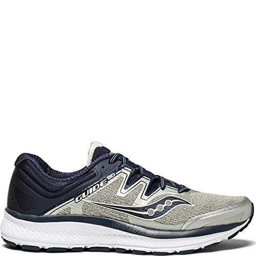 Saucony Men's Guide ISO, Blue | Grey | Vizired, 12 D US