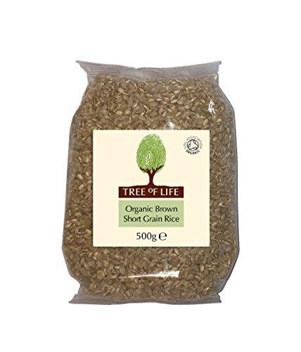 Tree of Life Organic Brown Rice - Short Grain - 500 g (Pack of 6)