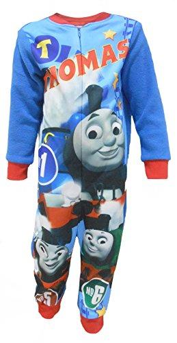 """Thomas The Tank Engine No 1"""" Bambino Pile Sleeping Sleeping One Piece 18-24 Mesi (92cm)"""