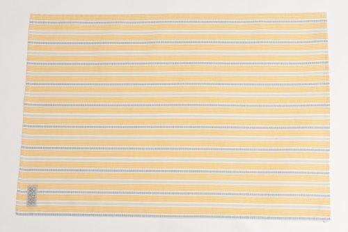 Ledbury 70cm Organic Cotton Tea Towel Colour: Ochre and Grey by Ochre...