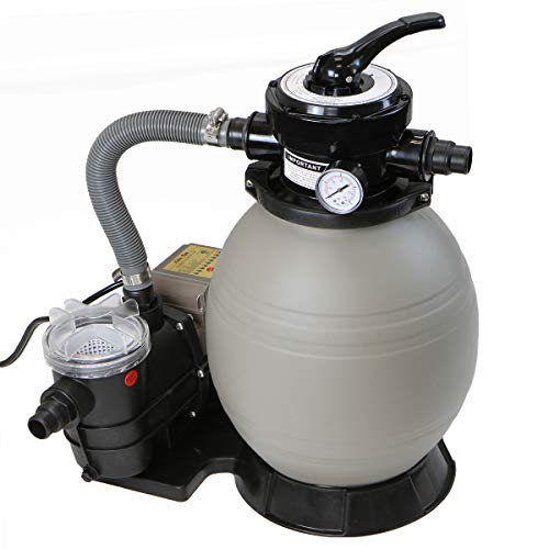 XtremepowerUS 2640GPH 13' Sand Filter w/ 3/4HP Digital Programmer Timer Above Ground Swimming Pool Pump Set