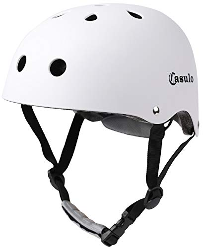%51 OFF! Casulo Skateboard Helmet CPSC ASTM Certified Impact Resistance Ventilation for Multi-Sports...