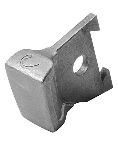 Edelrid Unisex– Erwachsene Eisgerät Zubehör Hammer, Silver, einheitlich