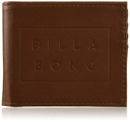 BILLABONG Die Cut, Bolsa y Cartera para Hombre, Marrón (Tan), 1x1x1 cm (W x H x L)