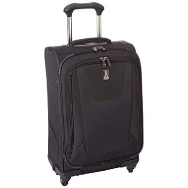 Travelpro Luggage Maxlite3 21 Inch Expandable Spinner, Black, One Size