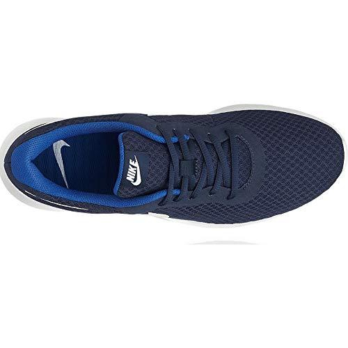 Nike Tanjun, Zapatillas de Running para Hombre, Azul (Midnight Navy/White-Game Royal), 45 EU