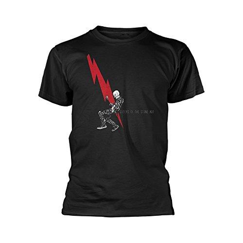 Unknown - Camiseta - para hombre negro negro Small