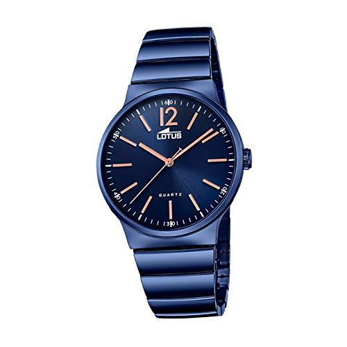 Lotus Minimalist 18467/2 Reloj de Pulsera para hombres Momento Estelar de Diseño