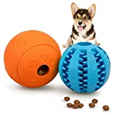 Interactive Dog Toys for Puppies 2 Pack, HIPPIH Dog Puzzle Toys for Small Dogs, Bite Resistant Dog...