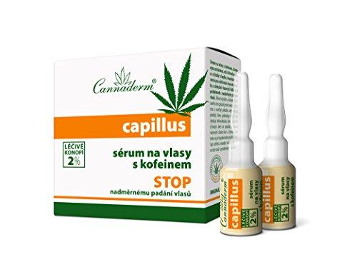 Cannabis-cosmetics - Capillus pelo serum con hanföl tratamiento para