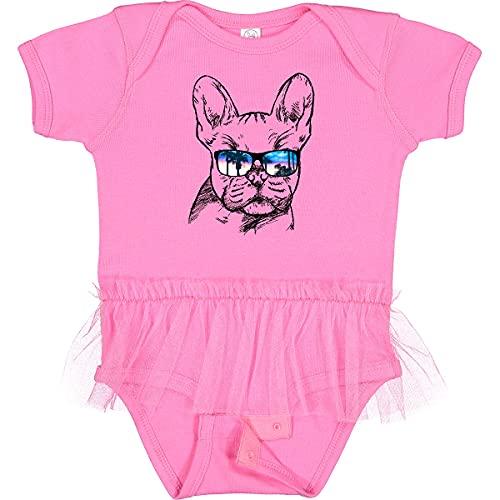 inktastic French Bulldog Portrait Infant Tutu Bodysuit Newborn Raspberry 2a719