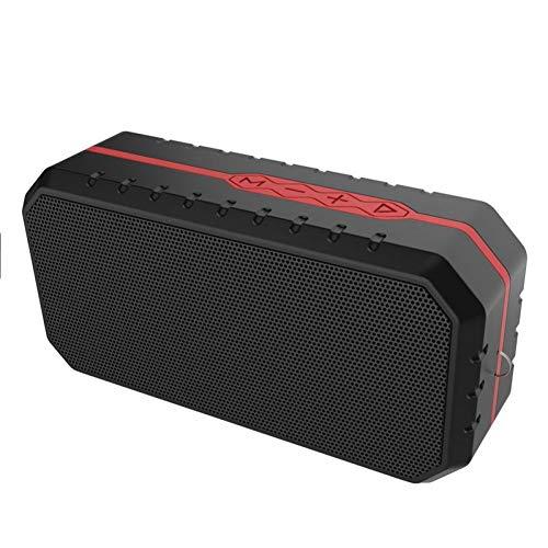 HYTGFR draadloze Bluetooth Outdoor Party Player Outdoor Drie-antibluetooth luidspreker outdoor draagbare sportluidspreker fiets audio rood