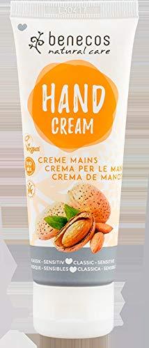 Benecos – Classic Sensitive Crème pour les mains, 75 ml