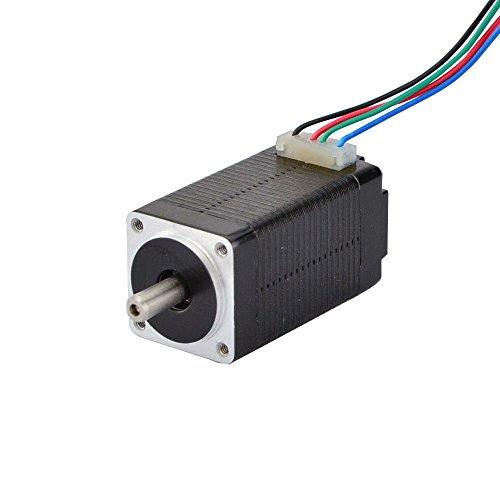 STEPPERONLINE Nema 8 - Motor paso a paso Bipolar 1.8deg 4Ncm 0.6A 20x20x38mm 4 hilos para impresora 3D, máquina CNC