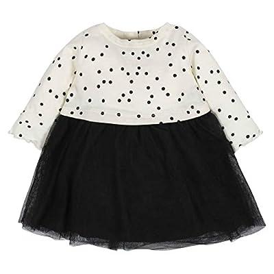 Gerber Baby Girls Dress, Tiny Dots, 6-9 Months