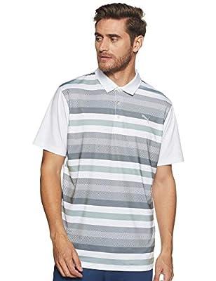 Puma Golf Herren Turf-Streifen-Golf-Polo-Hemd