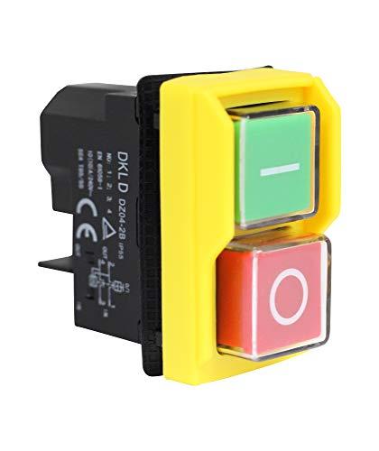 Interruptor de tensión cero para máquina DZ4 230 V para máquinas de herramientas idénticas a KEDU KJD20-2 230 V