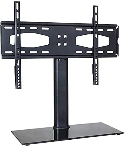 BNFD Gabinete de Soporte para TV Soporte Fijo de Pared para TV Soporte de Pared para TV ultradelgado para TV LED LCD de Plasma de 32-55 Pulgadas (Color: Negro)