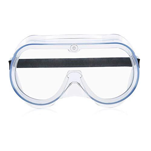 DSJSP Gafas Protectoras a Prueba de Polvo Gafas Protectoras 1pc A Prueba de Viento A Prueba de Polvo Antivaho Silicona Transpirable Gafas de Seguridad Unisex Gafas Protectoras para los Ojos
