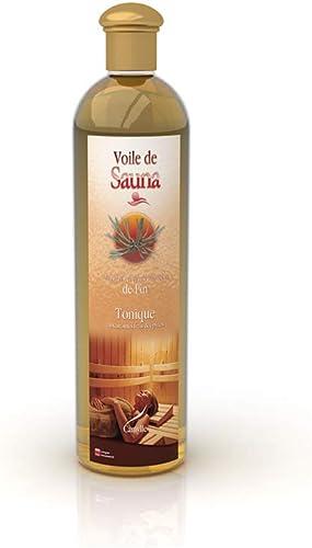 Camylle - Voile de Sauna Pin - Fragrances à base d'Huiles Essentielles 100% Pures et Naturelles pour Sauna - Tonique ...